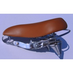 siodelko cruiser  custom brazowe