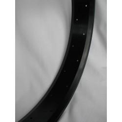 """aluminiowa obrecz 26"""" cale 80 mm ,  Robsson czarna  (matt) anodizowana"""