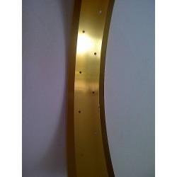 """aluminiowa obrecz 26"""" cale 80 mm ,  Robsson zlota  (matt) anodizowana"""