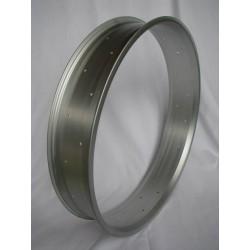 "aluminiowa obrecz 24""cale,100mm Robsson srebrne (mat) anodized"
