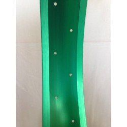 "aluminiowa obrecz 26"" cale 100mm ,  Robsson zielona) anodizowana"