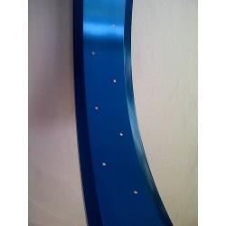"aluminiowa obrecz 26"" cale 100mm ,  Robsson niebieska anodizowana"